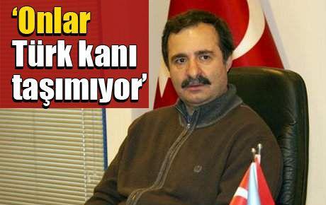 'Onlar Türk kanı taşımıyor'