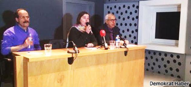 Oral Çalışlar'ın da katıldığı paneli İP'liler bastı