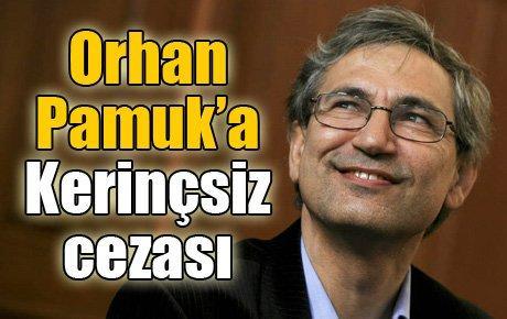 Orhan Pamuk'a Kerinçsiz cezası
