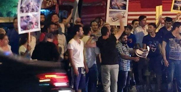 Ortaköy Sinagogu'na yumurtalı saldırı