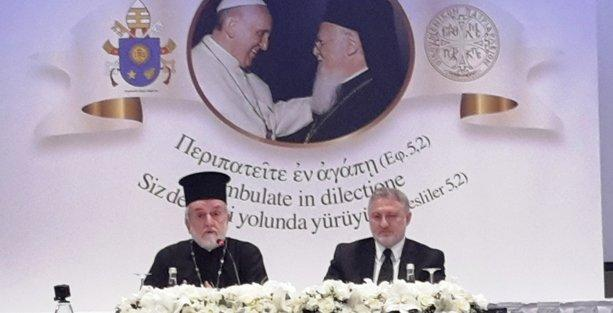 Papa'nın Patrikhane ziyaretini değerlendirdiler