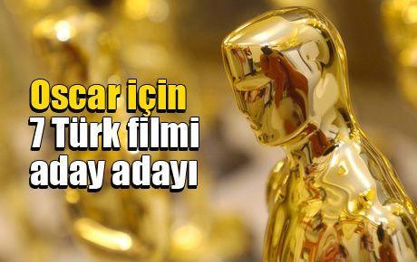 Oscar için 7 Türk filmi aday adayı