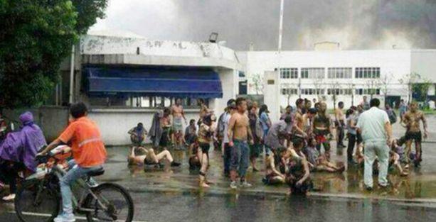 Otomobil parçası üreten fabrikada patlama: 65 ölü