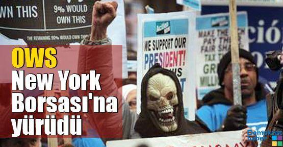 OWS New York Borsası'na yürüdü