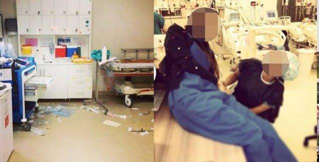Özel hastanenin yoğun bakımı çöplük gibi