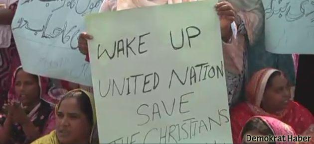 Pakistan'da Hristiyanlar can güvenliklerini istiyor