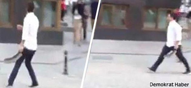 Palalı saldırgan gözaltına alındı