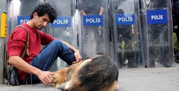 Pandomim sanatçısına 'polise mukavemet' soruşturması