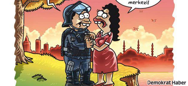 Penguen polisin Emek Sineması aşkını çizdi