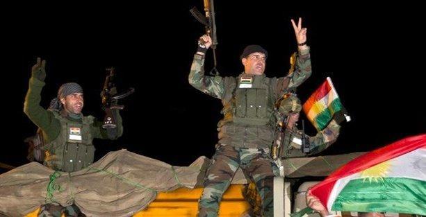 Peşmerge Kobani'ye geçti, çatışmalar yoğunlaştı