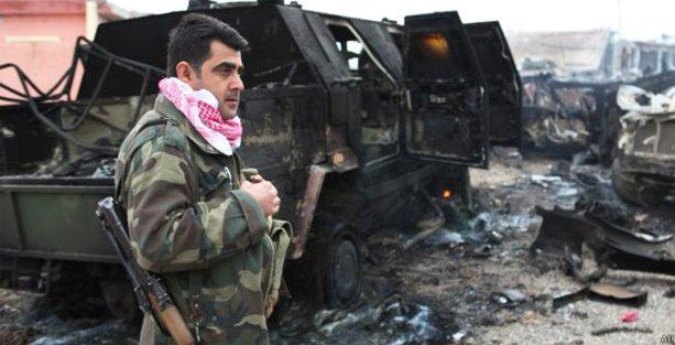 Şengal'de kentin büyük bölümü IŞİD'in elinden kurtarıldı
