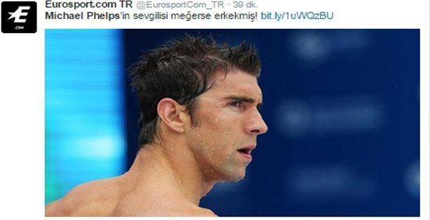 Phelps'in sevgilisi ve medyanın erk dili