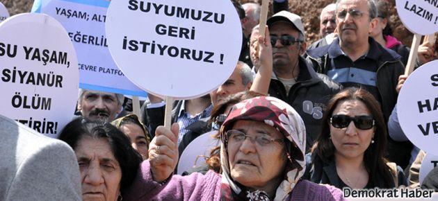 Pınargözü'nün suyunu kurutup arsenikli su getirdiler