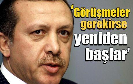 'PKK görüşmeleri gerekirse yeniden başlar'