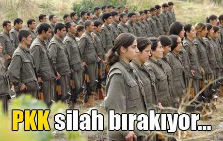 PKK silah bırakıyor…