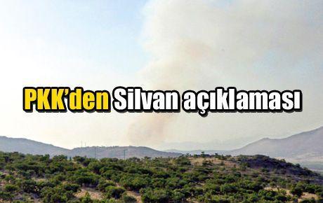 PKK'den Silvan açıklaması