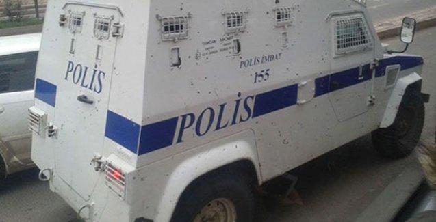 Plakasız zırhlı akrepler Diyarbakır sokaklarında dolaşmaya başladı