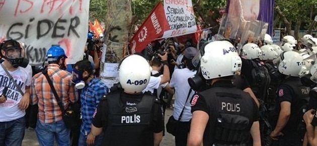 Polis Gezi'ye  böyle girdi!