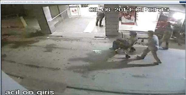 Bagaj işkencesinin görüntüleri çıktı