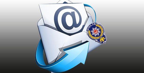 Polis, Marmara'daki 5 ilde herkesin e-postalarına girmiş!