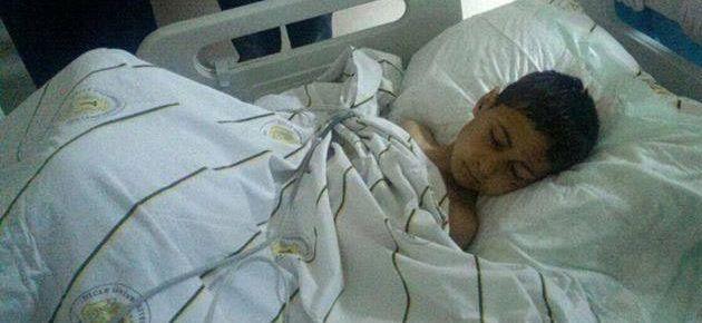 Polisin yaraladığı 10 yaşındaki Ezer taburcu oldu