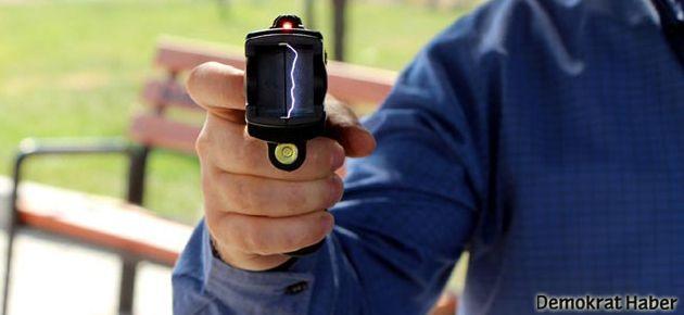 Polisin yeni silahı elektroşok