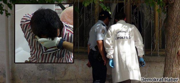 Polisten akıl hastasına da gaz bombası!