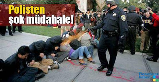 Polisten şok müdahale!
