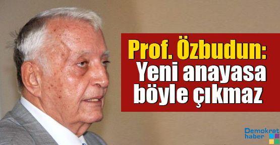 Prof. Özbudun: Yeni anayasa böyle çıkmaz