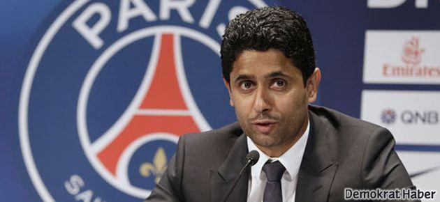 PSG'nin başkanı Al-Khelaifi'den Barca'ya açık tehdit