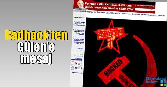 Redhack'ten Gülen'e mesaj