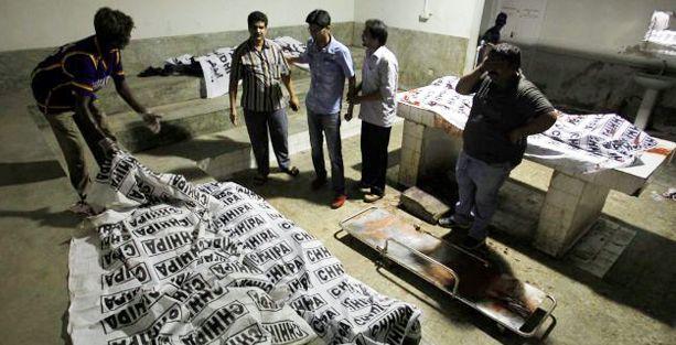 Radikal İslamcılar katliam yaptı
