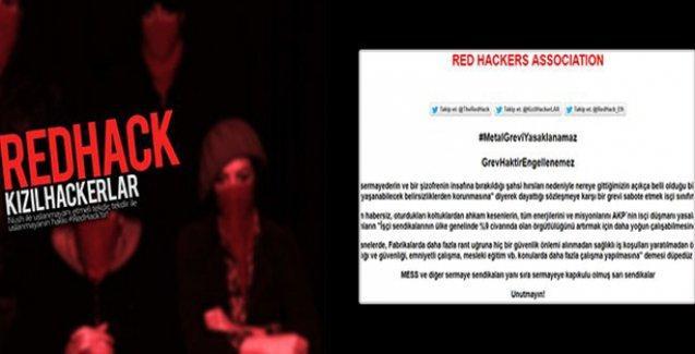 RedHack metal işçileri için hackledi