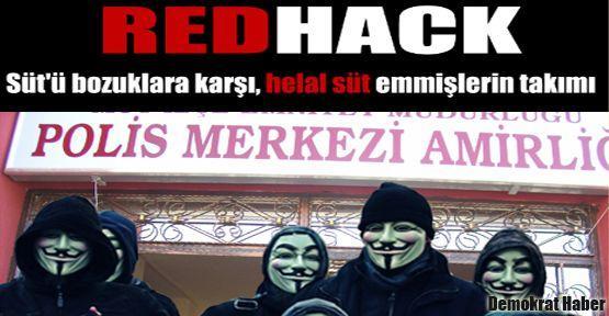 Redhack süt firmalarını hackledi