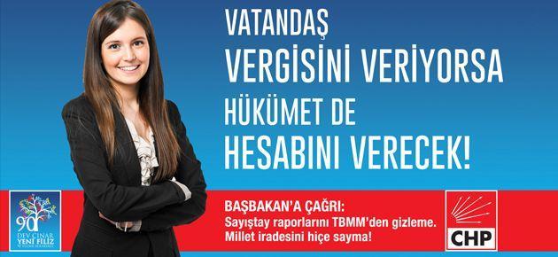 Reklam şirketi CHP'yi sansürledi