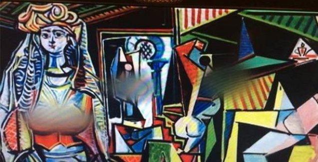 Rekor fiyata satılan Picasso'nun eserine sansür