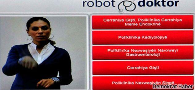 Robodoktor, artık Kürtçe de konuşacak