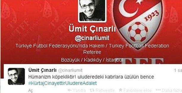 Roboski tweet'i atan hakeme hümanizm kitapları okuma cezası