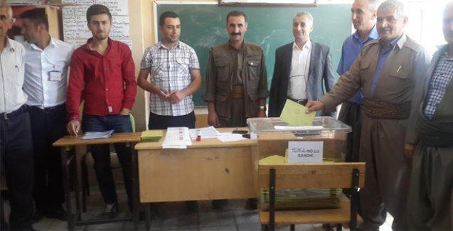 Roboski ve Gülyazı köylerinde oy kullanma işlemi devam ediyor