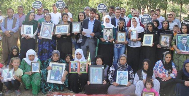 Roboskili aileler,  Demirel için ilan edilen 3 günlük yasa tepki gösterdi