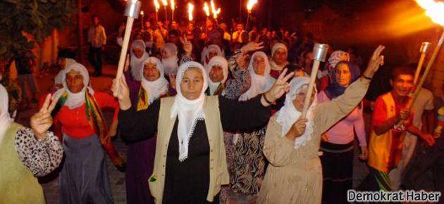 Rojava'ya destek eylemleri büyüyor