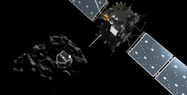 Rosetta'nın modülü Philae, kuyruklu yıldıza tarihi iniş gerçekleştirdi