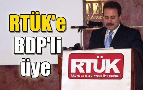 RTÜK'e BDP'li üye