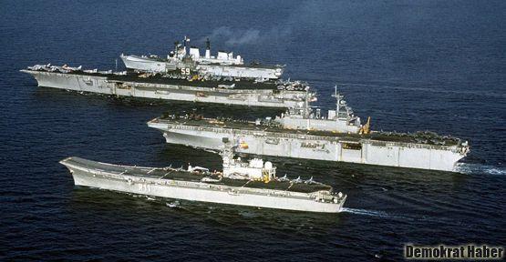 Rus savaş gemileri Suriye yolunda