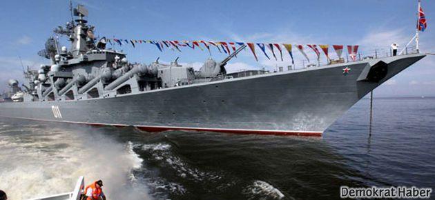 Rusya, Akdeniz'e savaş gemileri gönderiyor