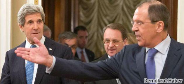 Rusya ve ABD Suriye konusunda anlaştı