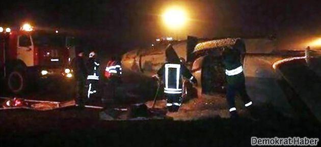 Rusya'da uçak yere çakıldı: 50 kişi öldü