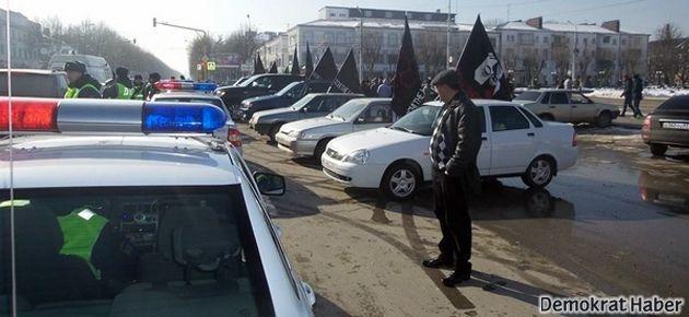 Rusya'dan Çerkesler'e gözaltı