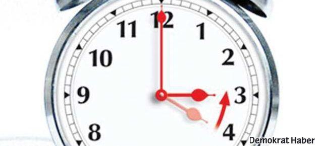 Saatinizi geri almayı unutmayın