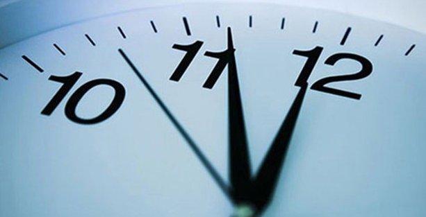 Saatler geri alınıyor, mesailer değişiyor